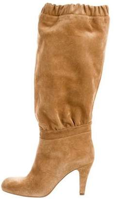 Chloé Ruched Suede Boots w/ Tags