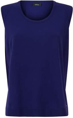 Akris Cotton Sleeveless Sweater