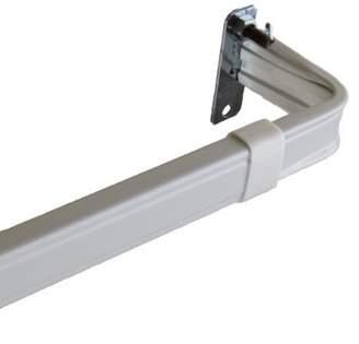 Rod Desyne Lockseam 2-Inch Clearance Window Curtain Rod Set