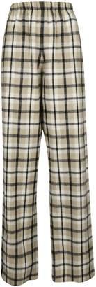 Balenciaga Checked Tartan Trousers