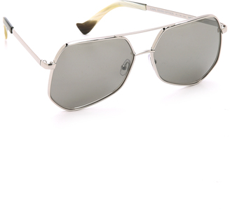 Grey Ant Megalast Sunglasses $420 thestylecure.com