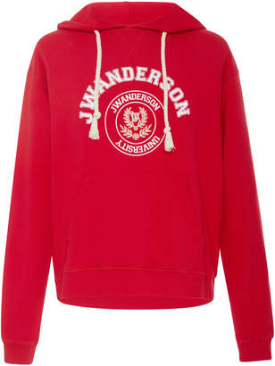 J.W.Anderson University Cotton Hoodie