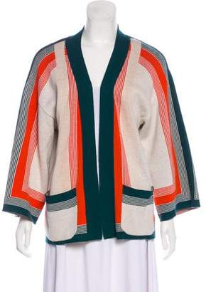 Equipment Striped Knit Cardigan