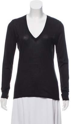 Giambattista Valli Silk Long Sleeve T-Shirt