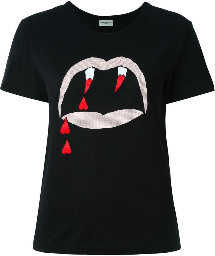 Saint LaurentSaint Laurent 'Blood Lust' T-shirt