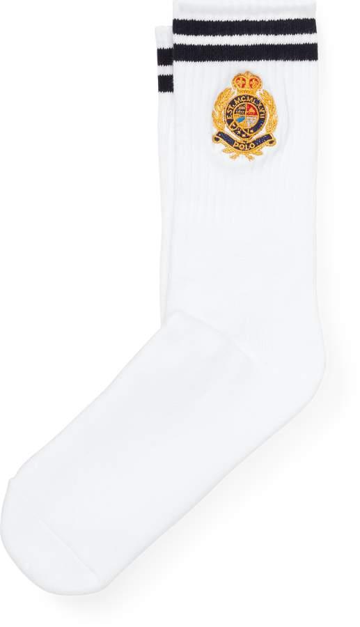 Ralph Lauren Crest Cushioned Socks