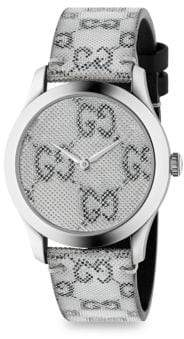 Gucci G-Timeless Floating GG Steel Watch