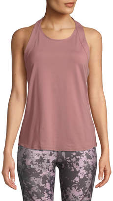 Under Armour Misty Embroidered Scoop-Neck Activewear Tank