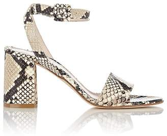 Barneys New York Women's Crisscross Ankle-Strap Sandals $295 thestylecure.com