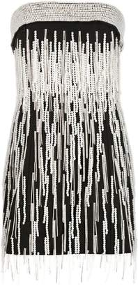 ATTICO embellished mini dress
