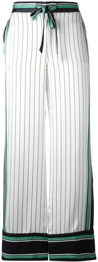 EquipmentEquipment printed pyjama trousers