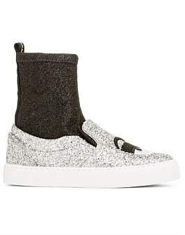 Chiara Ferragni Flirting Slip-Sock Sneaker