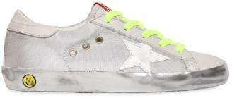 Golden Goose Super Star Canvas & Leather Sneakers