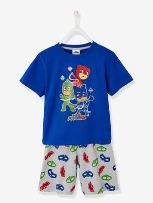 Vertbaudet Short Pyjamas with PJ Masks Print