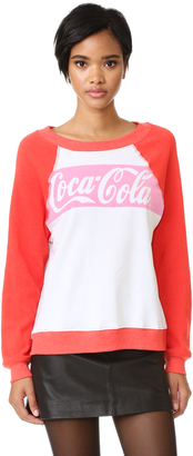 Wildfox Coca-Cola Classic Sweatshirt $108 thestylecure.com