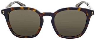 Gucci Brown Square Sunglasses