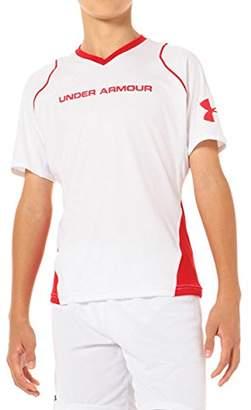 Under Armour (アンダー アーマー) - (アンダーアーマー) UNDER ARMOUR UA HGライトSSシャツ BSC2292 WHT/RED ホワイト/レッド YMD