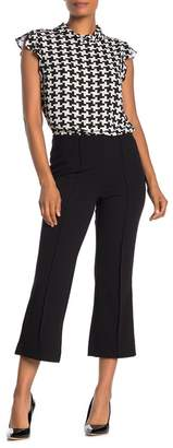 Vince Camuto Cropped Seam Boot Cut Pants