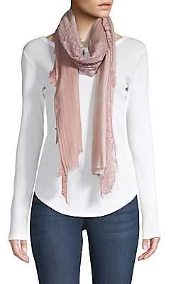 Bindya Women's Evening Wool & Silk Lace Wrap