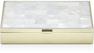 Reed & Barton Mother-of-Pearl Gold Jewelry Box