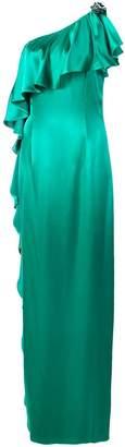 Zac Posen Anne frilled gown
