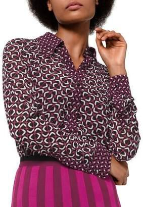 MICHAEL Michael Kors Mod Foulard Button-Front Shirt