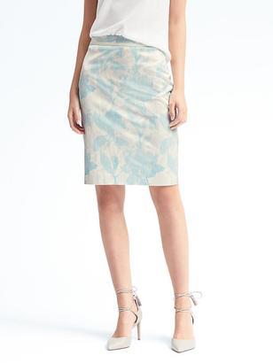 Floral Pencil Skirt $78 thestylecure.com