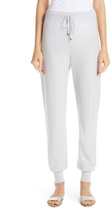 St. John Float Jacquard Knit Cashmere Pants