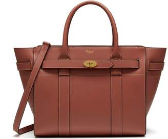 Mulberry Small Zipped Bayswater Antique Pink Silky Calf