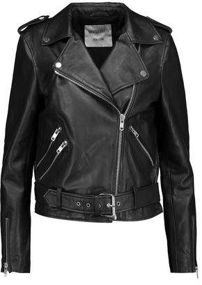 Walter W118 By Baker Lin Embroidered Leather Biker Jacket