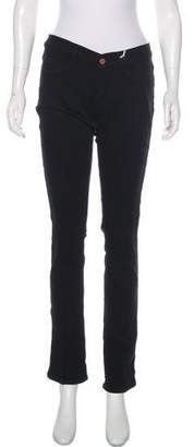 MiH Jeans Mid-Rise Straight-Leg Jeans w/ Tags
