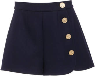 RED Valentino Button Skort