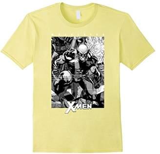 Marvel X-Men Wolverine & White Comic Panel T-Shirt