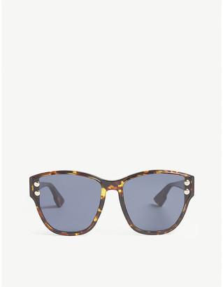72bbc33f7e423 Christian Dior DiorAddict3 Havana cat-eye sunglasses