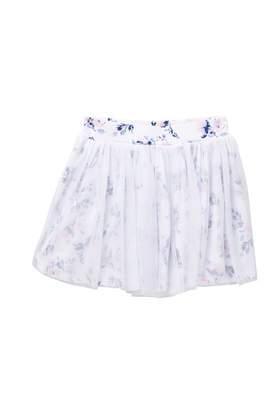 Splendid Flower Print Tutu Skirt (Toddler Girls & Little Girls)