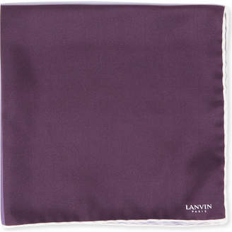 Lanvin Colour-block pocket square