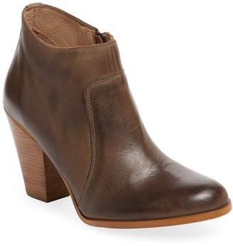 Maiden Lane Leather Ankle Bootie