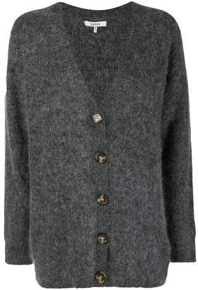 Ganni knitted buttoned cardigan
