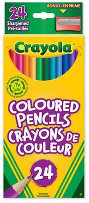Crayola 24-Pack Coloured Pencils