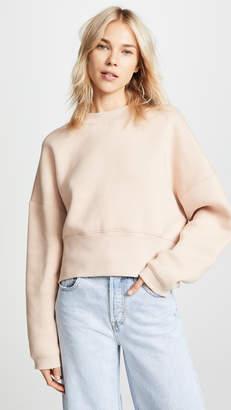 Alexander Wang Wide Neck Sweatshirt