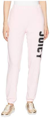 Juicy Couture Pull-On Pant w/ Logo Women's Casual Pants