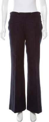 Nina Ricci Mid-Rise Wide-Leg Pants