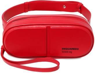 DSQUARED2 Logo Leather Belt Bag