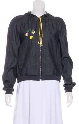 Chloé Denim Zip-Up Jacket