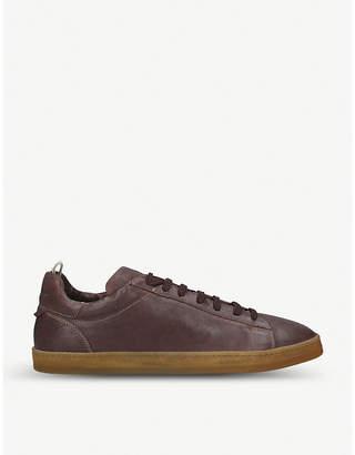 Officine Creative Karma leather trainers