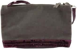 Vanessa Bruno Grey Cloth Clutch Bag