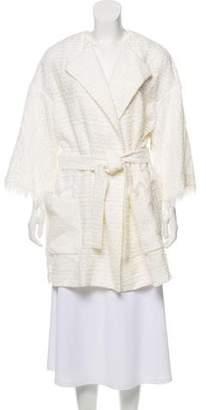 Blumarine Tie-Accented Jacket
