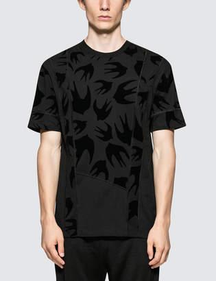 McQ Cut Up Coverlock S/S T-Shirt