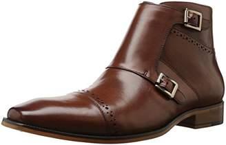 Stacy Adams Men's Kason Cap Toe Double Monk Strap Side Zipper Boot Chukka