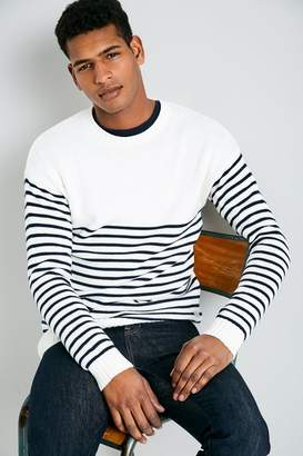 Jack Wills Ettington Stripe Crew Neck Sweater